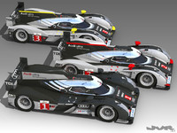 Audi R18 LeMans 2011