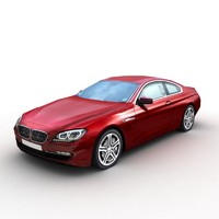 3d 2012 bmw 6 coupe model