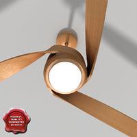 3d ceiling fan v4 model