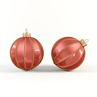 3d model christmas decoration