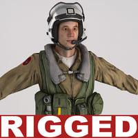 military pilot v2 rigged max
