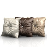 cushion pillow 3d x