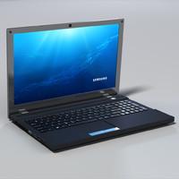 3d model samsung np305v5a np