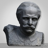 3ds max sculpture v5 man bust