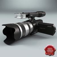 Sony Handycam NEX VG 10