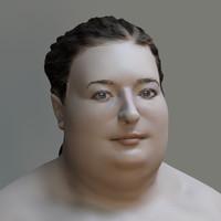big nude 3d model