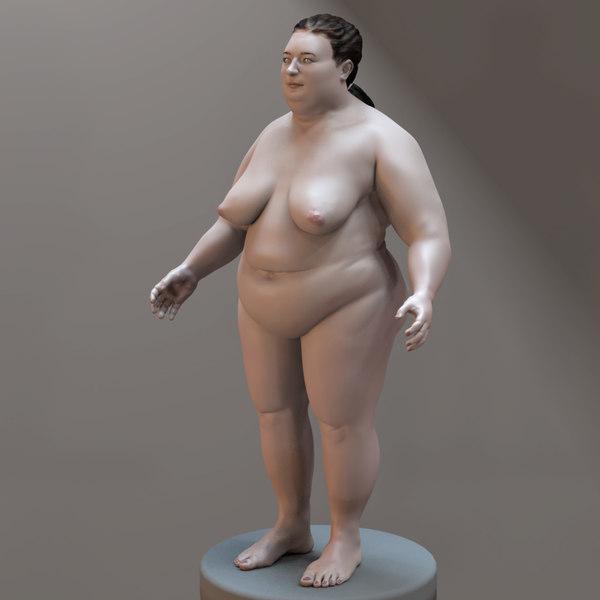 Free 3d nude model