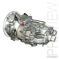 3d model transmission trans