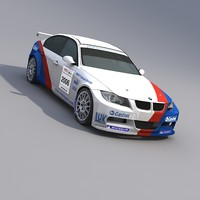 BMW 320i WTCC Race Car