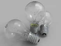 3d resolution lightbulb