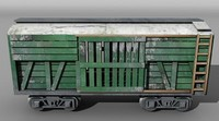 freight car 3ds