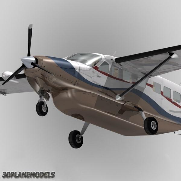 Used Turboprop: Cessna 208 Caravan Grand 3d Obj