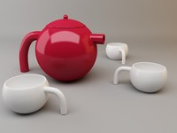Avestruz Tea Set