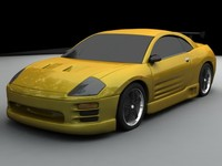 3ds max eclipse street racing