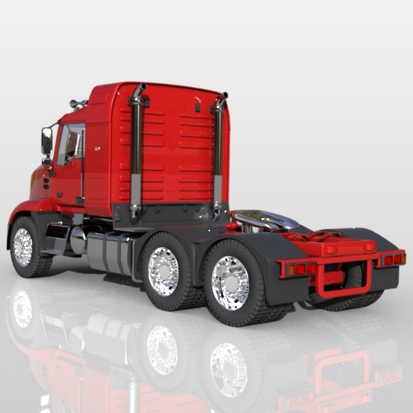 3d model mack pinnacle truck - Mack Pinnacle Truck... by Mark Tech Designs