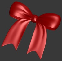 3ds max ribbon bow