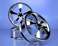 Custom Chrome Rims