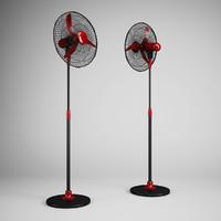 floor standing fan 02 3d model