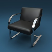 chair armchair 3d 3ds