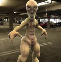 maya creature rigged