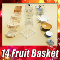 14 Fruit Basket and bowls Collection
