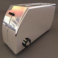 3d model kitchen toaster