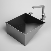 3ds max kitchen sink 23