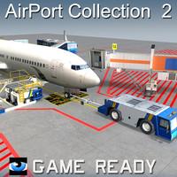 passenger b737-800 airport 2 3d x