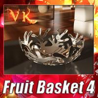 3d fruit basket 04