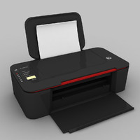 hp deskjet 3000 printer 3d model
