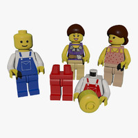 Set of Lego Figures