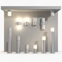 SLV Rox Acrylic lamp collection