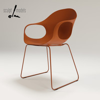 3d model elephant chair design