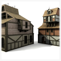 medieval buildings pack 2 blend