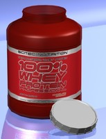 WHEY PROTEIN BOTTLE