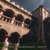 Gothic Environment Assets