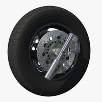 3dsmax wheel rim motor bike
