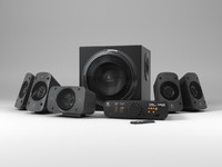 3ds logitech surround speakers z906