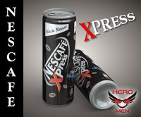 Nescafe xpress drink cans (black roast)