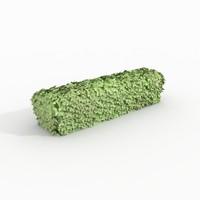 hedge plant 3d max