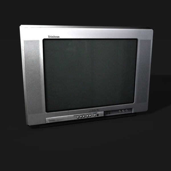 3d model of tv - Television... by coronagalvez19