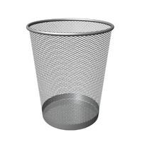 maya silver mesh rubbish bin