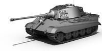 german tank 3d model