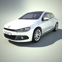 3d car scirocco model