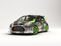 ken fiesta wrc rally 3ds