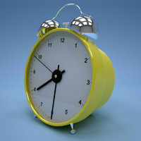 materials clock 3d model