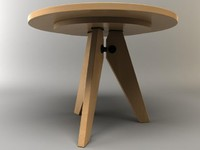 3d gueridon table