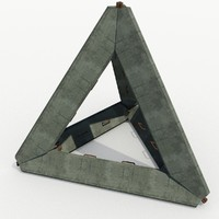 German Obstacle - Concrete Tetraeder I