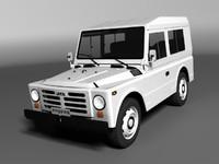 fiat campagnola lwb 3d model