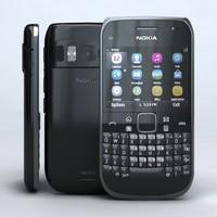 Nokia E6-00 Black